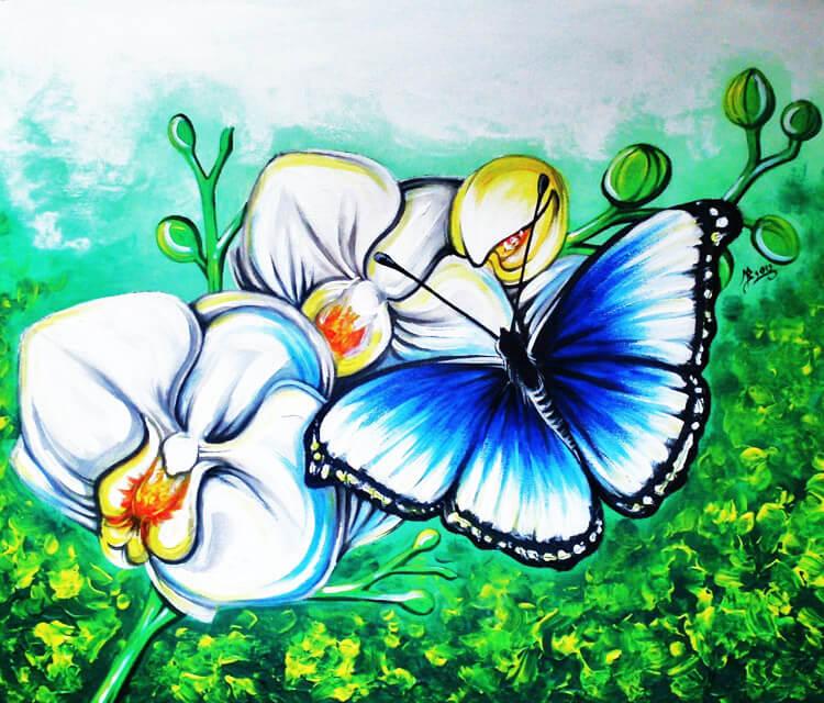 Tenderness painting by Mirik Bodliak
