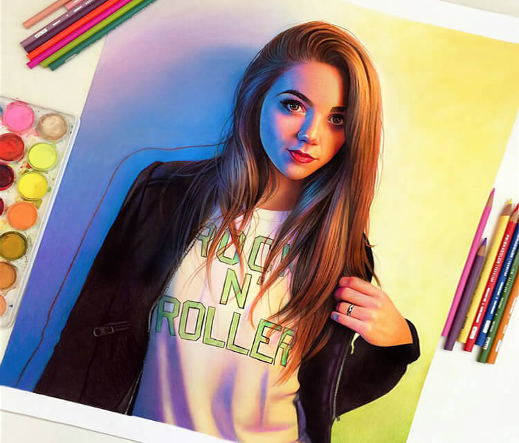 Portrait of Emily Bronzini by Morgan Davidson