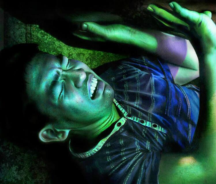 Guy buried alive by Norgan Davidson