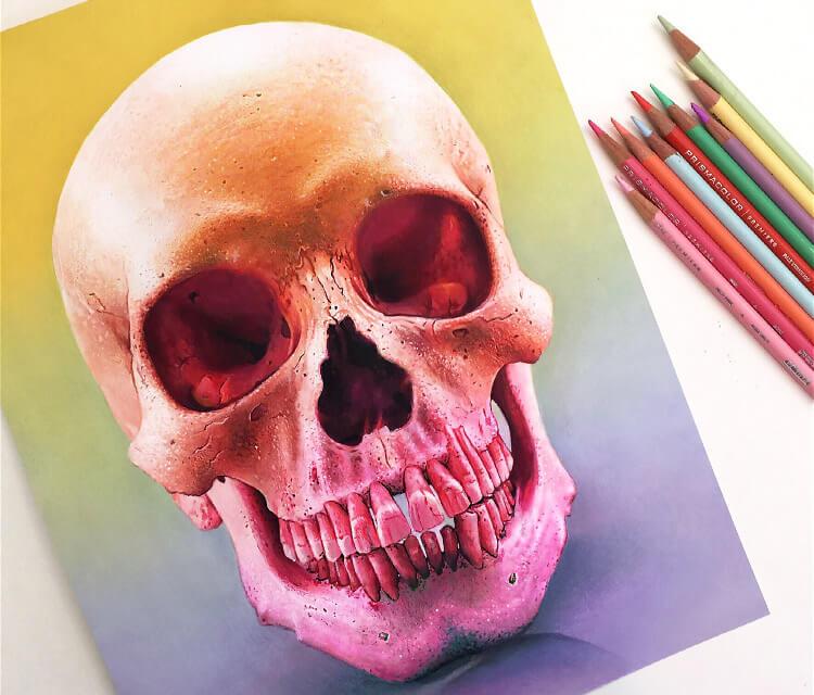 Skul drawing by Morgan Davidson