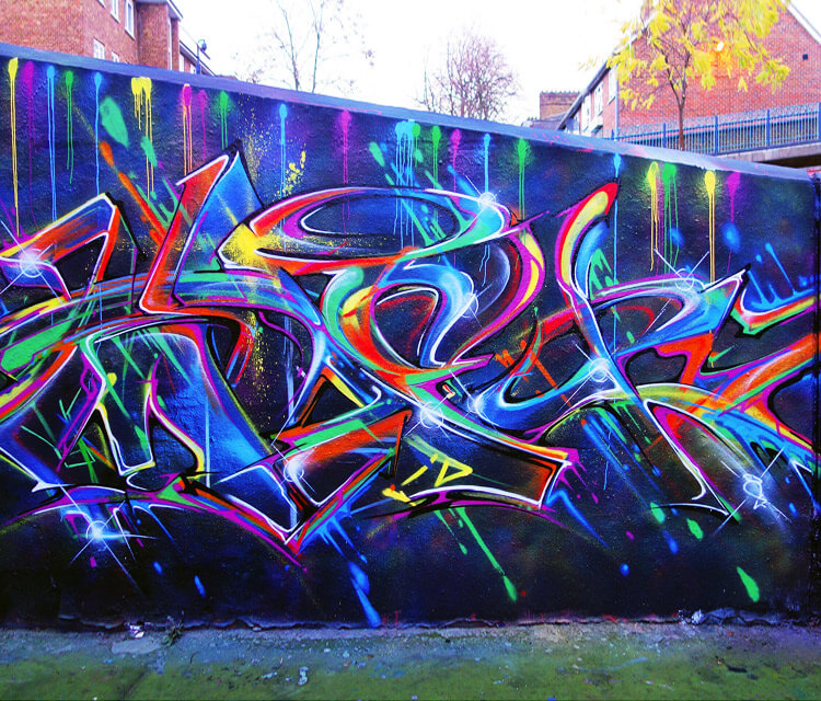Grafitti by Mr Shiz