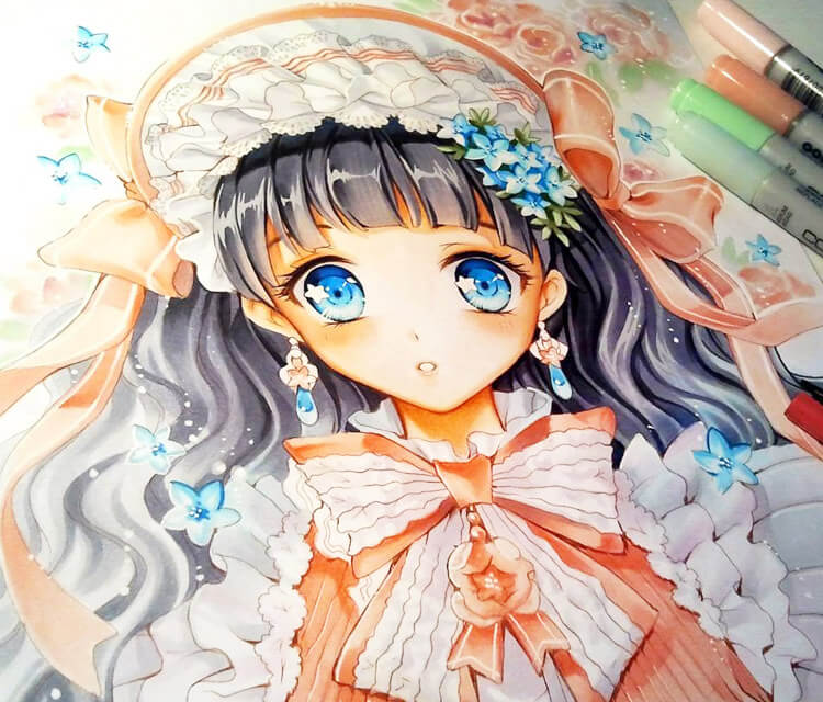 Hyme drawing by Naschi