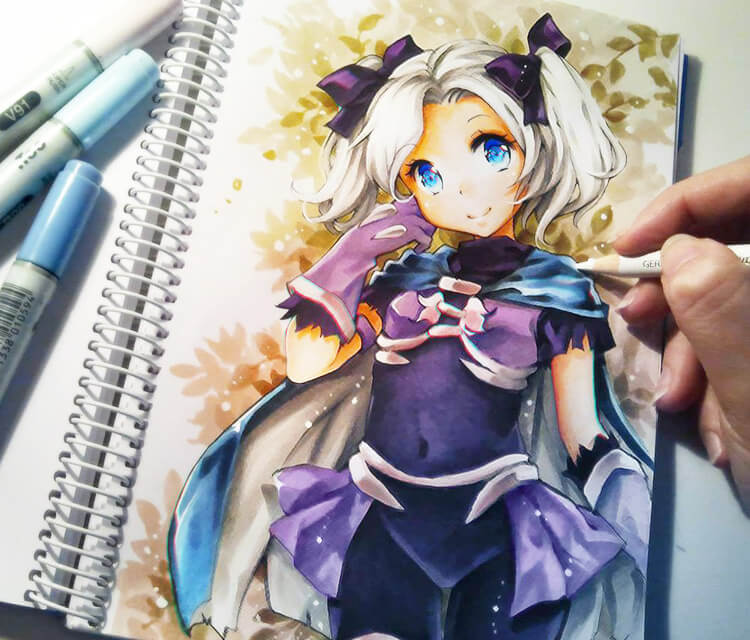 Nos Tale Assassin drawing by Naschi