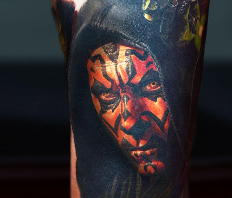 Tattoo Darth Maul from Star Wars by Nikko Hurtado