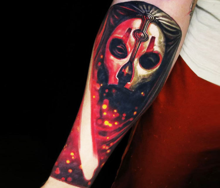 Darth Nihilus tattoo by Nikko Hurtado