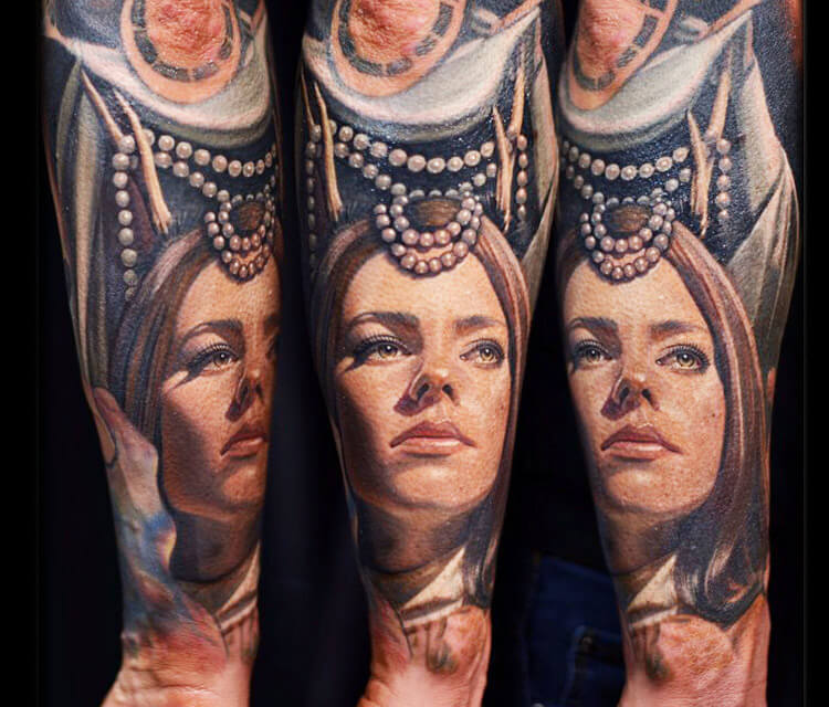 Forearm tattoo by Nikko Hurtado