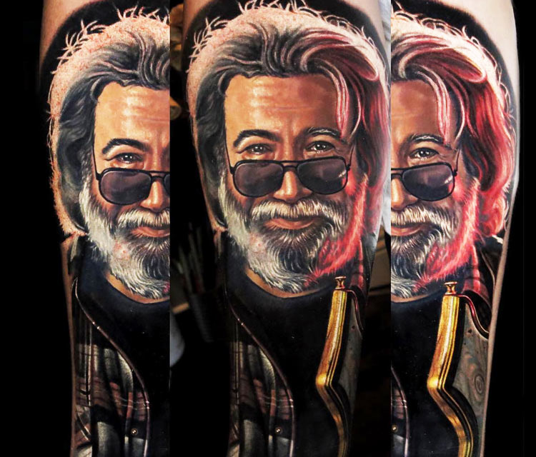 John Garcia  tattoo by Nikko Hurtado