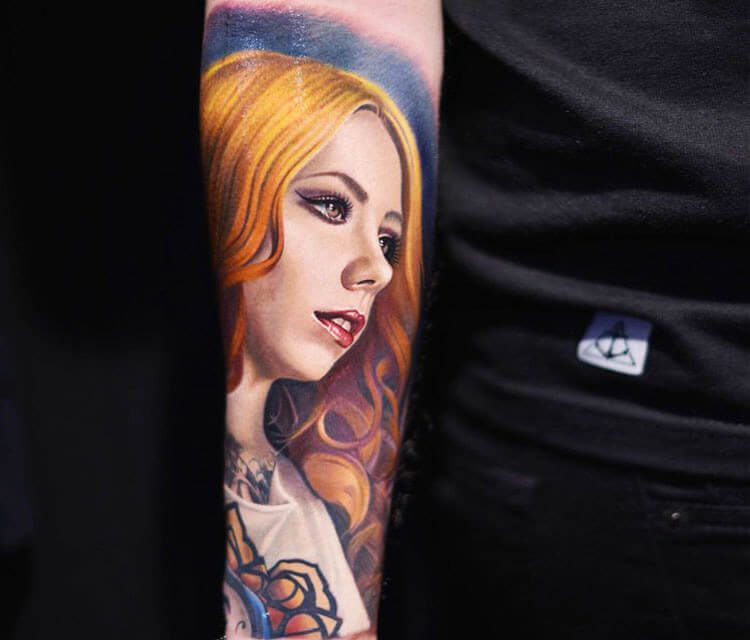 Megan Massacre tattoo by Nikko Hurtado