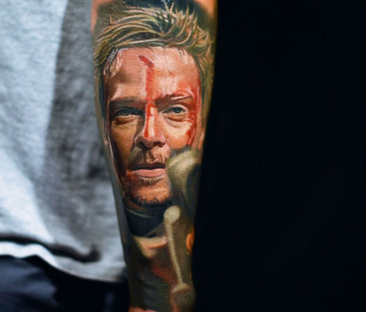 Murphy MacManus tattoo by Nikko Hurtado