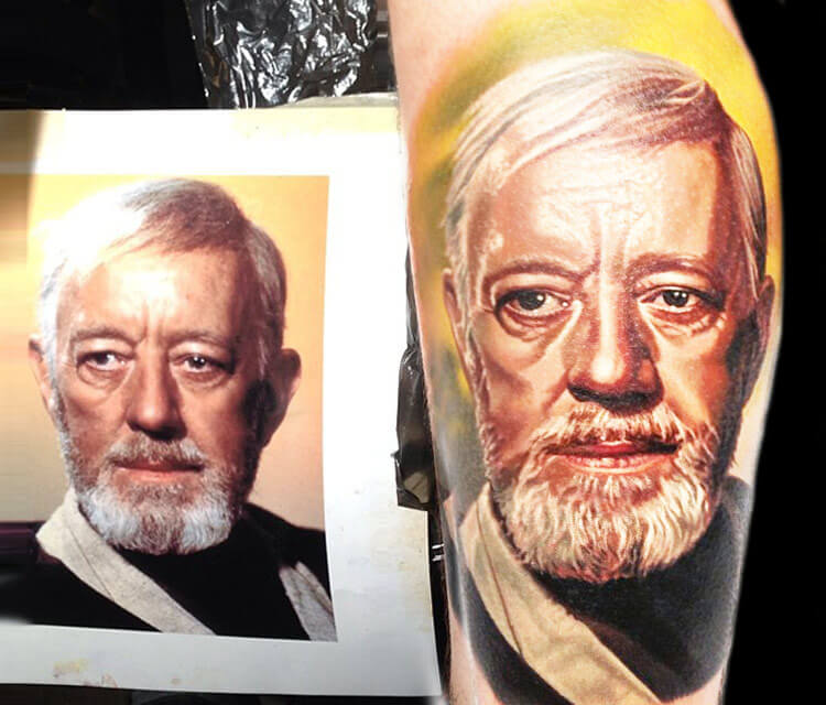 Star Wars tattoo by artist Nikko Hurtado