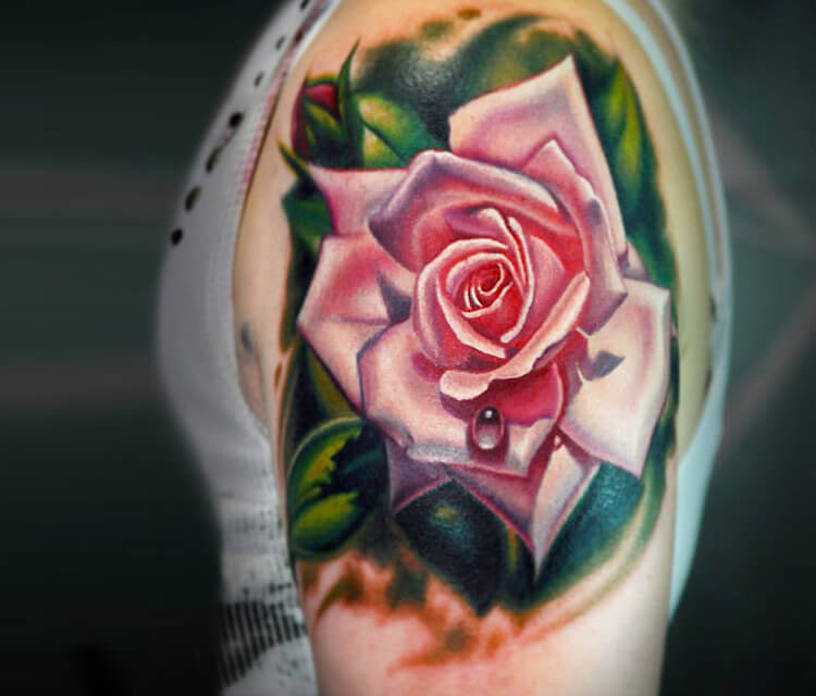 Rose tattoo by Nikko Hurtado | No. 166