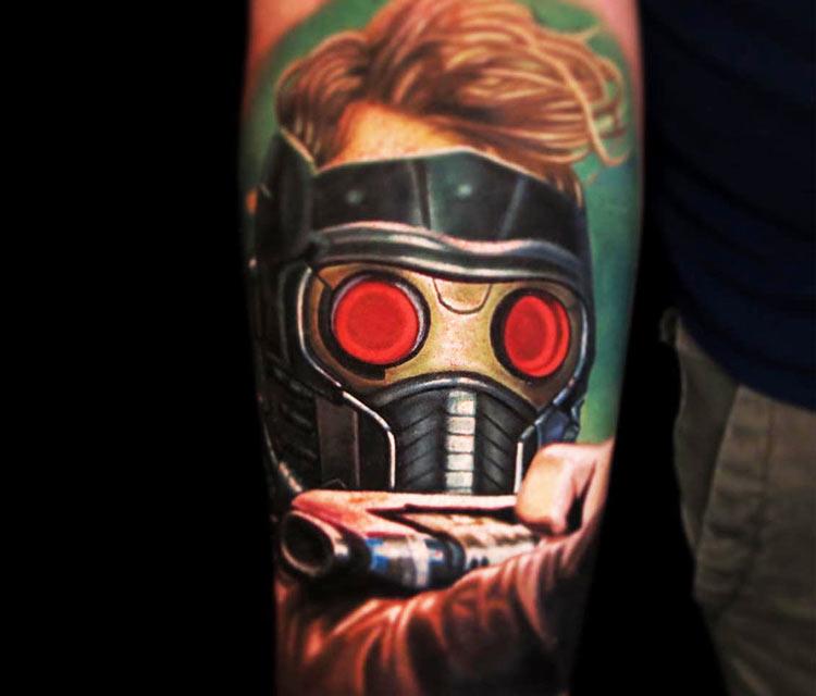 Star Lord tattoo by Nikko Hurtado