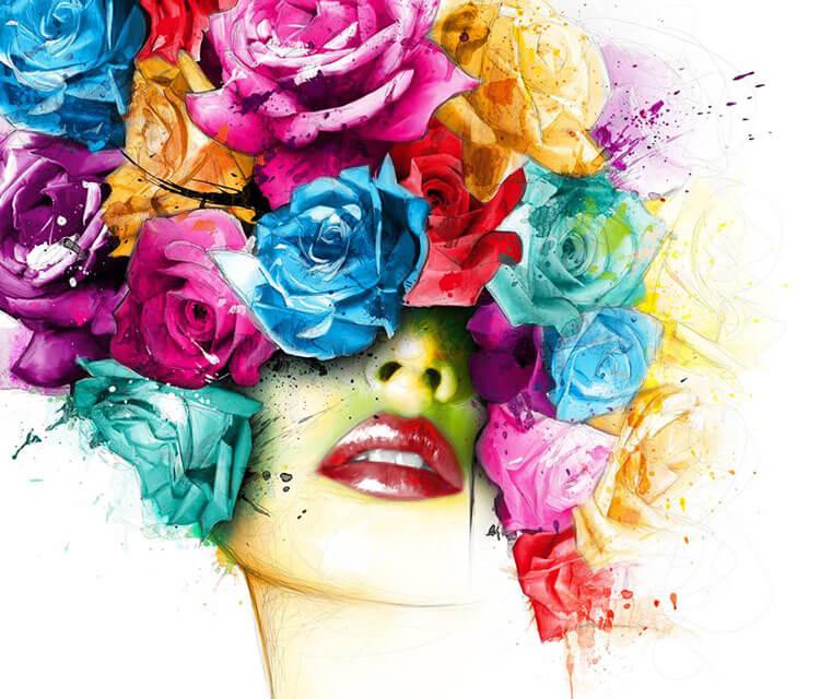La Vie En Roses painting by Patrice Murciano
