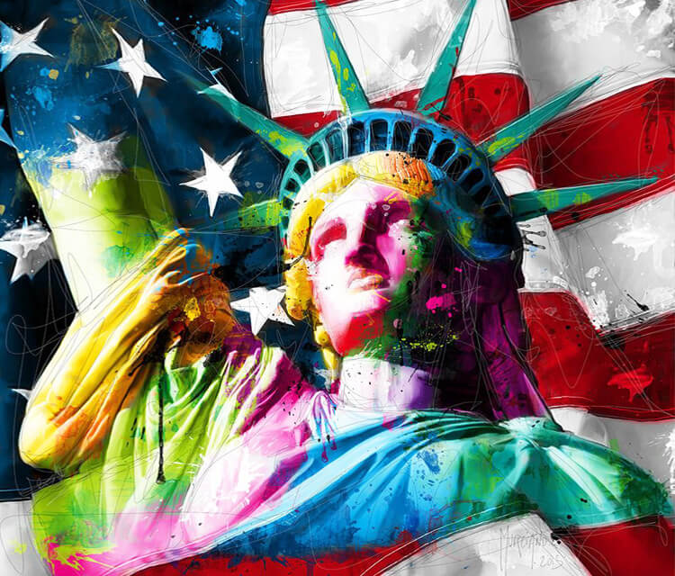 Statue of Liberty mixedmedia by Patrice Murciano