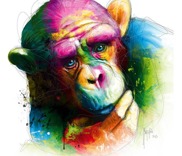 The Origins Ape by Patrice Murciano