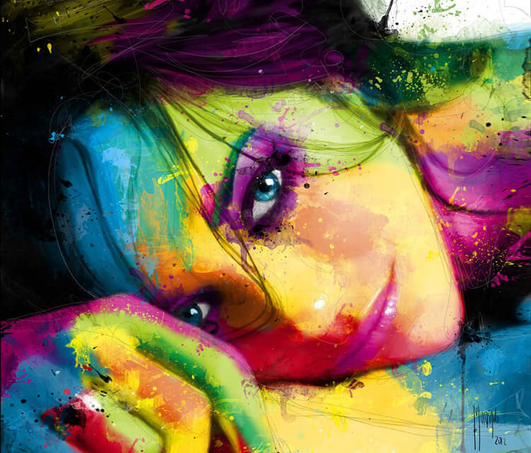 Portrait Woman by Patrice Murciano