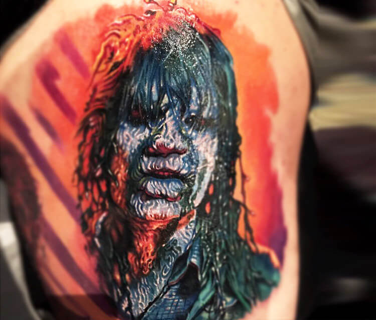 Creepshow tattoo by Paul Acker