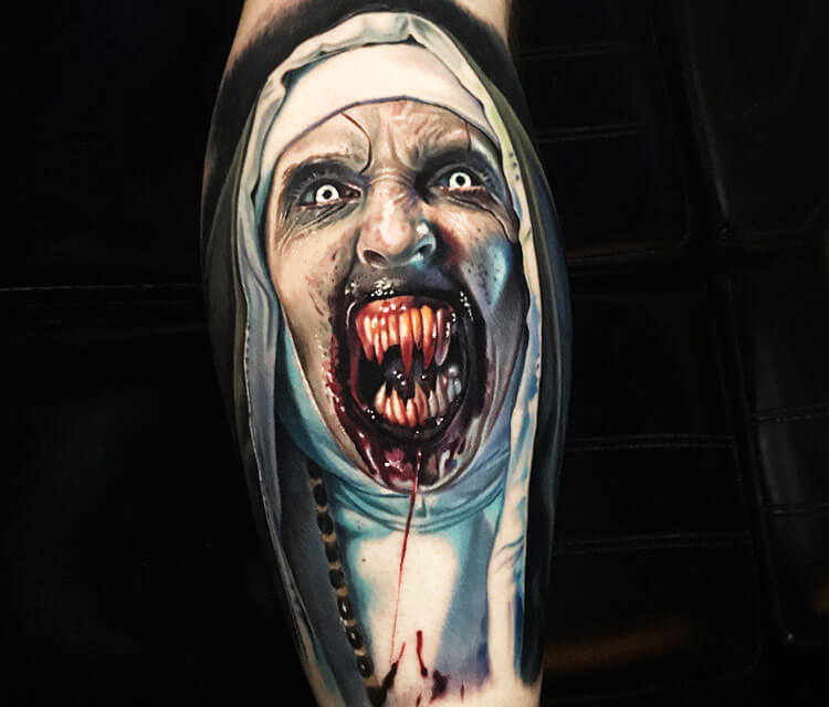 The Conjuring tattoo by Paul Acker