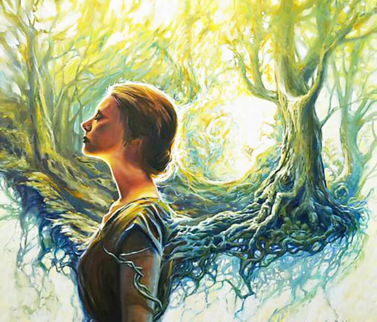 Unforsaken painting by Peter Zuffa Bodliak
