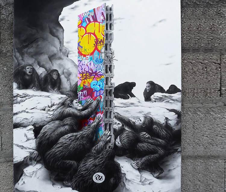 2001 A Street Odyssey by Pez Art