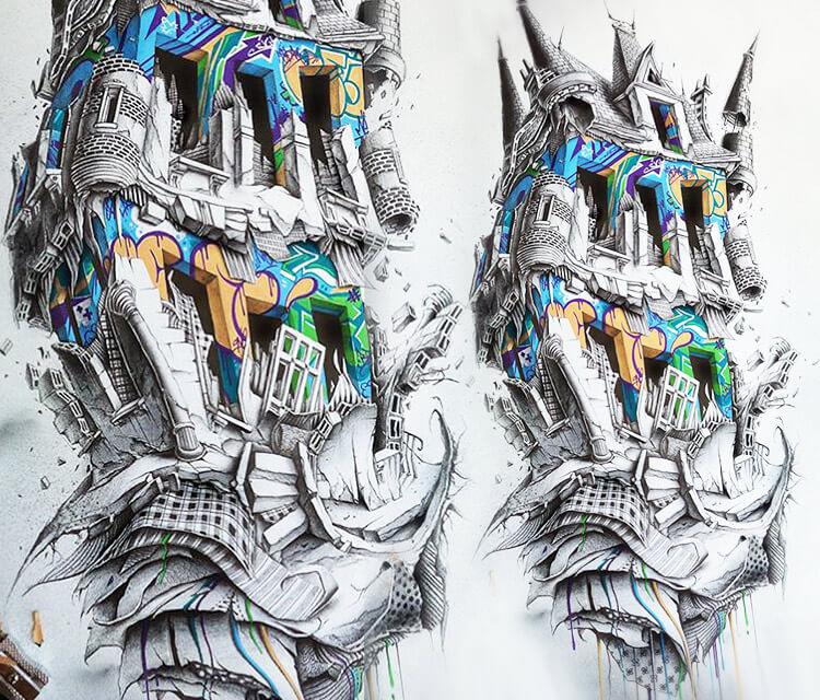 Nestor Oner drawing by Pez Art