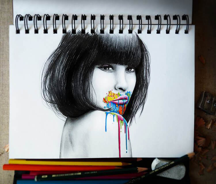 Primary instinct sketch drawing by Pez Art