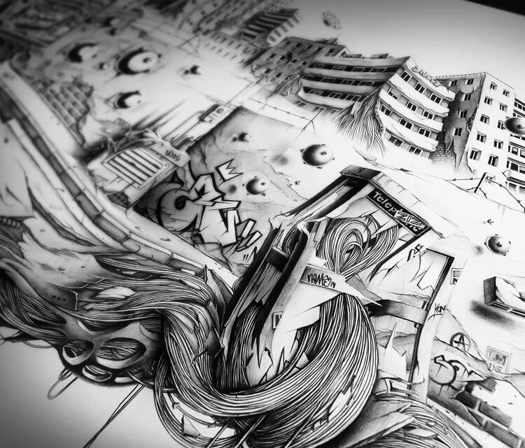 S.O.A.P Details sketch by Pez Art