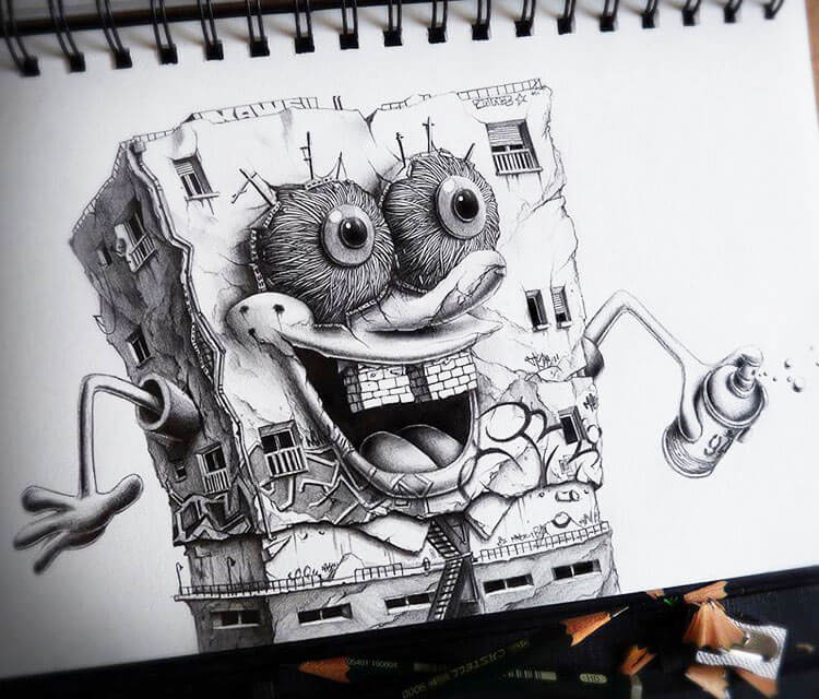 Spench BOB sketch by Pez Art