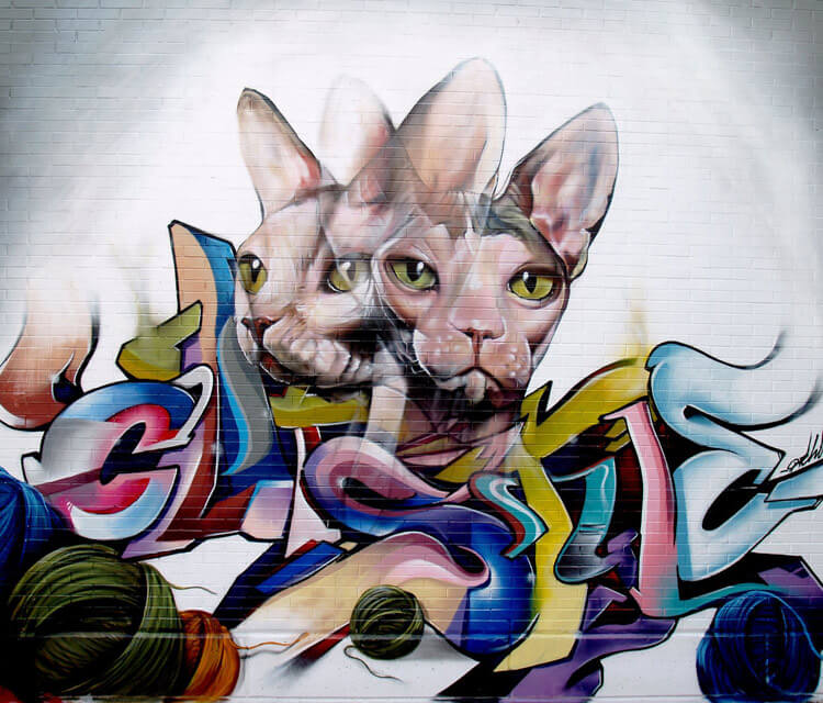 Streetart by Pichi and Avo
