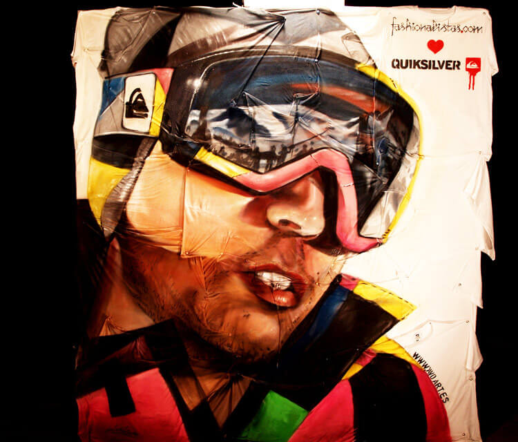 Quiksilver streetart by Pichi and Avo