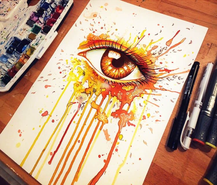 Autumn Eye  by Pixie Cold