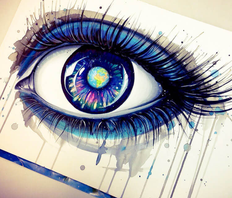 Earth Eye  by Pixie Cold