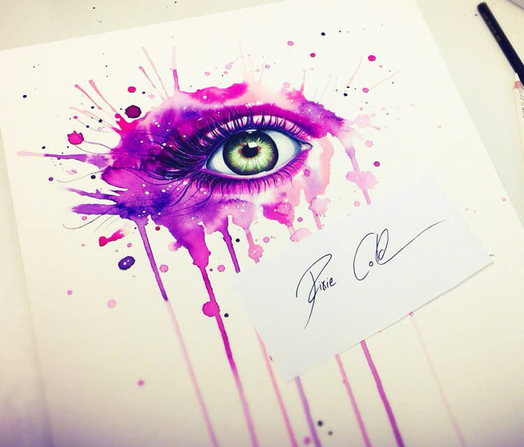 Eyesplash  by Pixie Cold