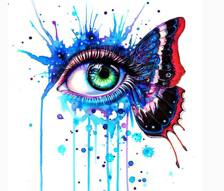 Fragile Soul Eye  by Pixie Cold