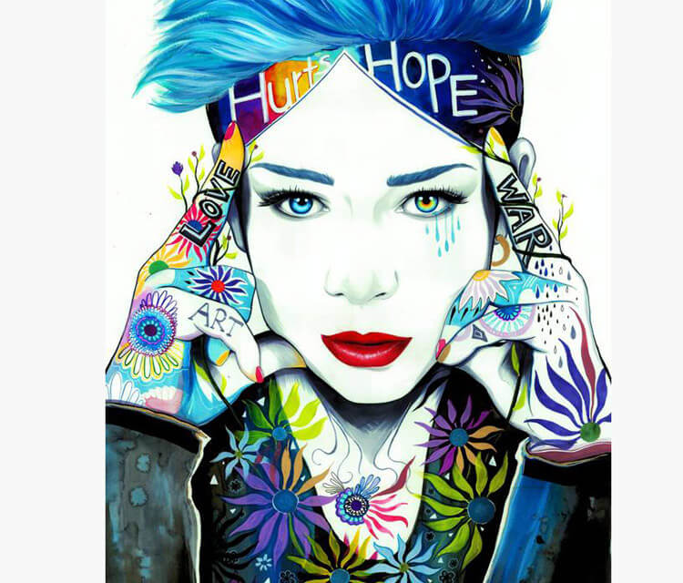 Love Hurt Hope War  by Pixie Cold