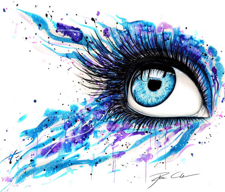 Open your eyes  by Pixie Cold