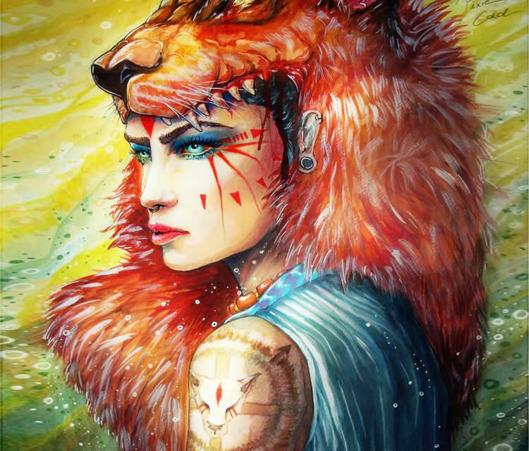 Princess Mononoke  by Pixie Cold