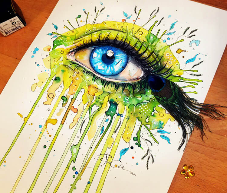 Spring Eye  by Pixie Cold