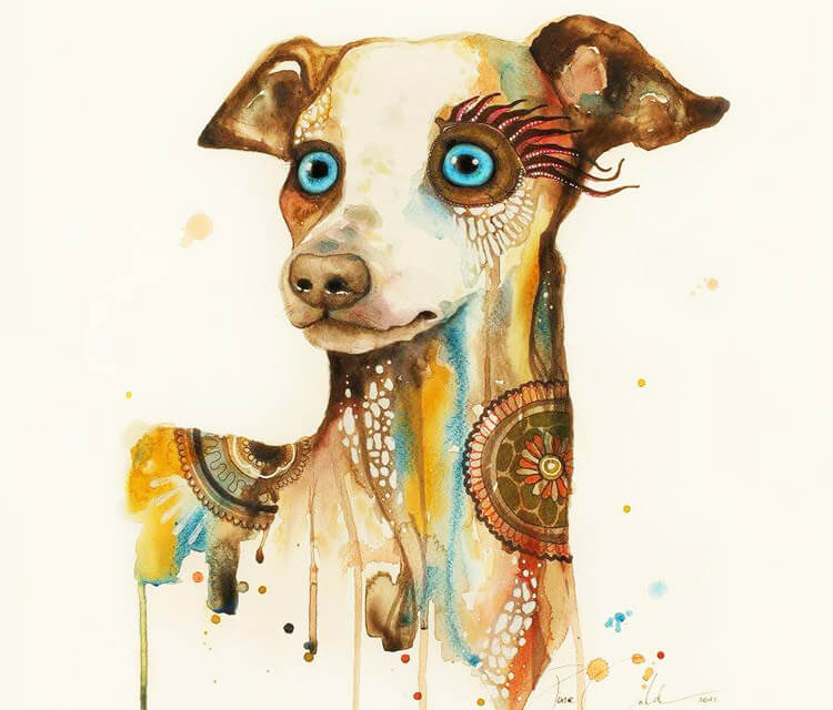 Steampunk dog  by Pixie Cold