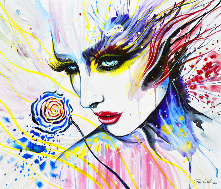 Wilting Rose  by Pixie Cold