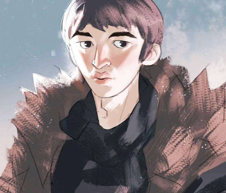 Bran Stark digitalart by Ramon Nunez