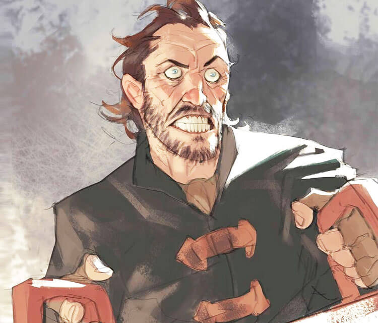 Bronn digitalart by Ramon Nunez