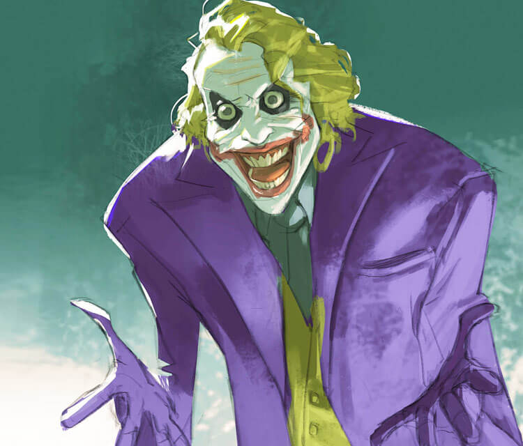 Joker digitalart by Ramon Nunez