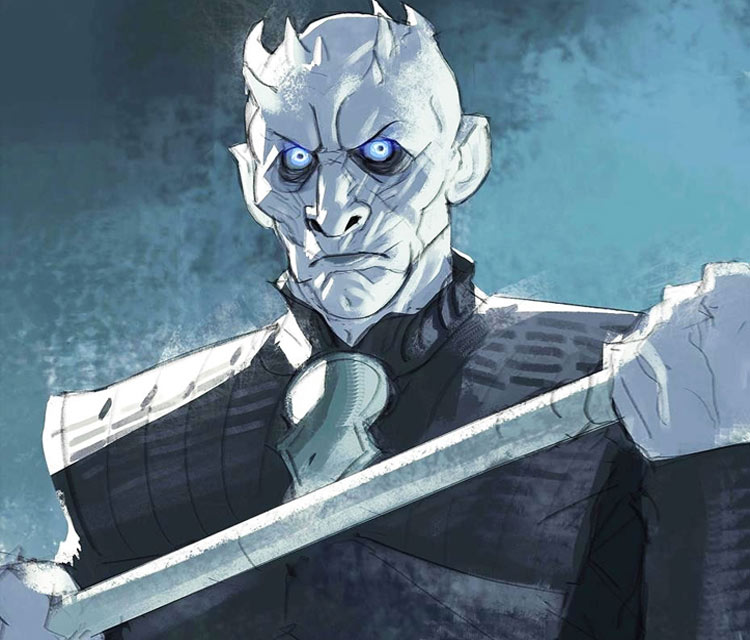 Night King digitalart by Ramon Nunez