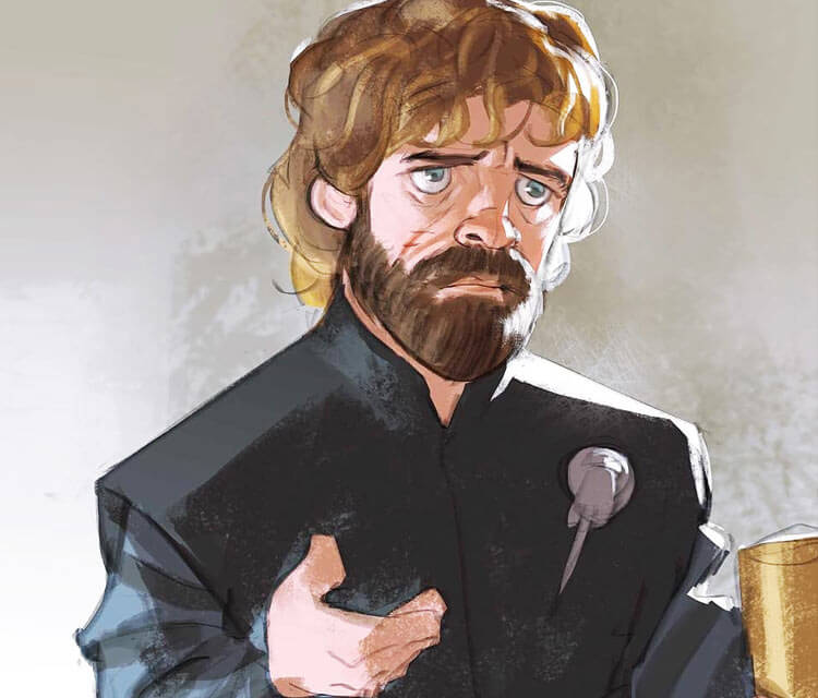 Game Of Thrones Characters By Ramon Nuñez: Tyrion Lannister Digitalart By Ramon Nunez