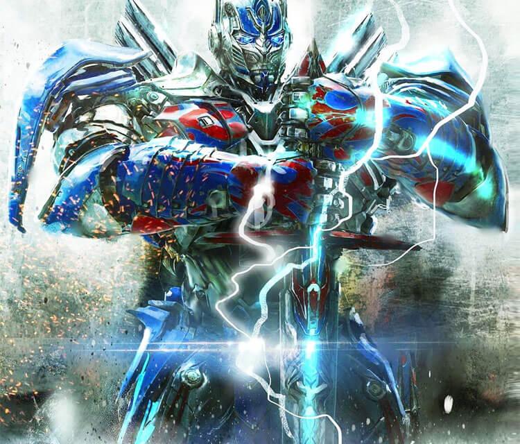 Optimus Prime drawing by Rudy Nurdiawan