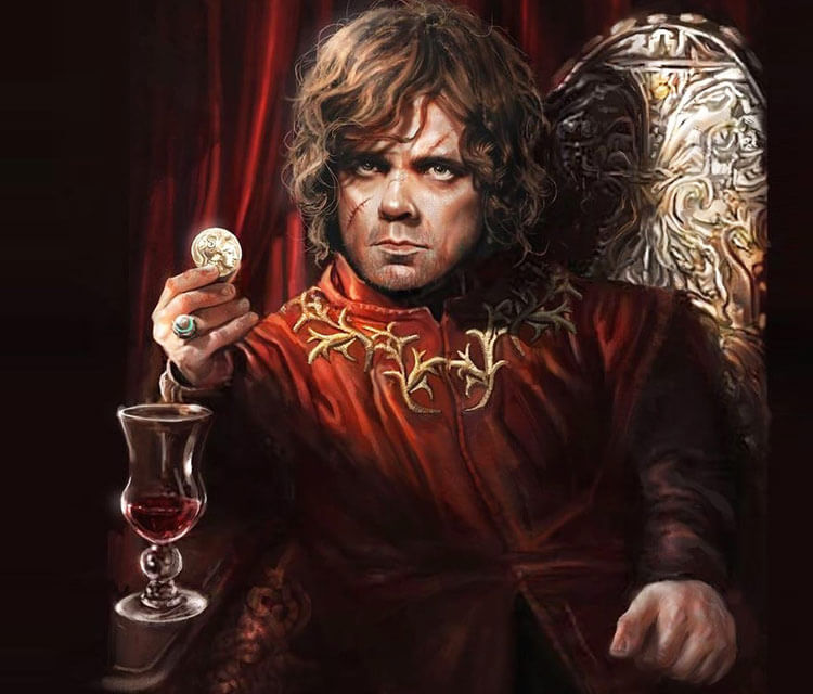 Tyrion Lannister pencil drawing by Rudy Nurdiawan