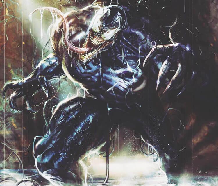 Venom drawing by Rudy Nurdiawan