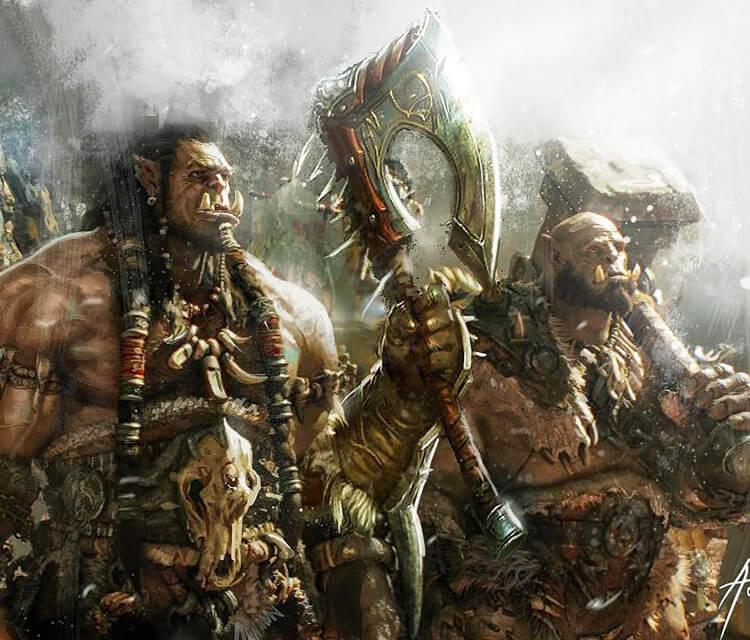 Warcraft drawing by Rudy Nurdiawan