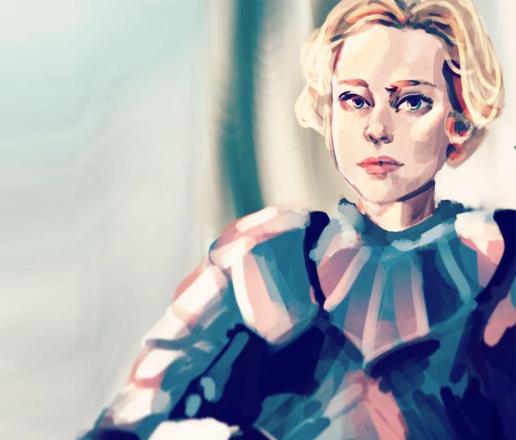 Brienne digitalart by Sarah Moustafa